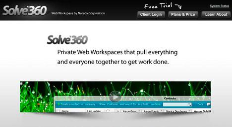 Solve360 screenshot