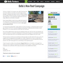 Bella Partners - Fundraising Campaign