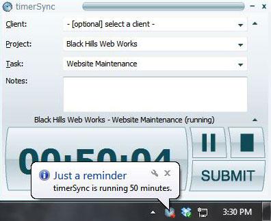 timerSync screenshot