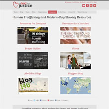 A Heart for Justice resources