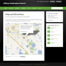 Hilltop Celebration Church - Map and Directions