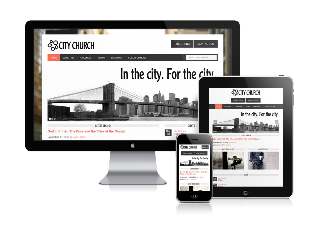 City Church Template Package
