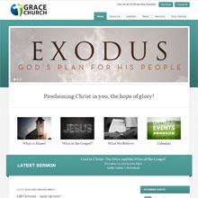 Grace Church Design Template - Teal