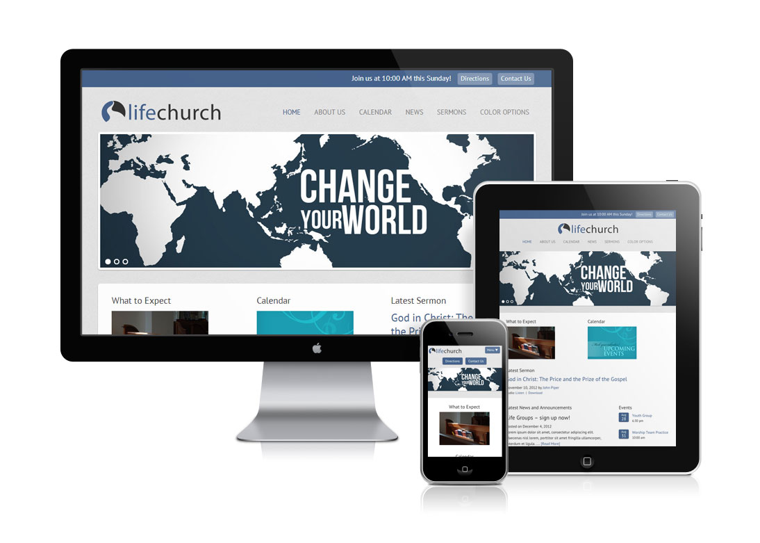 Life Church Template Package
