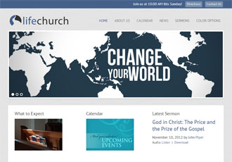 Life Church Design Template