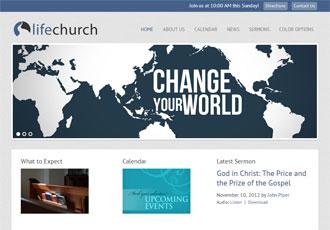 Life Church Design Template