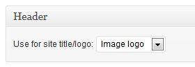 Genesis > Theme Settings > Header - image logo